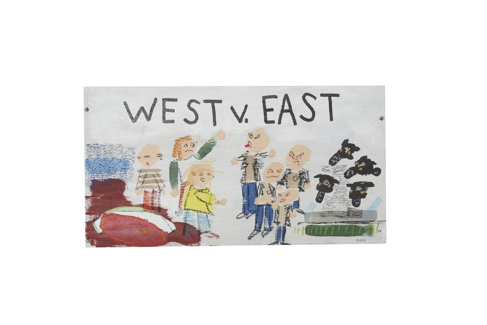 West v. East