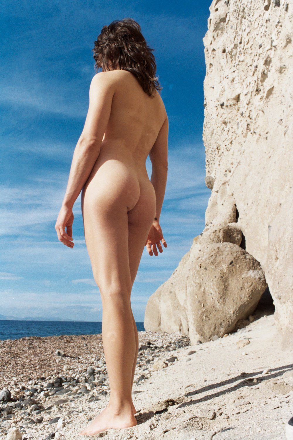 Santorini Nude, Greece