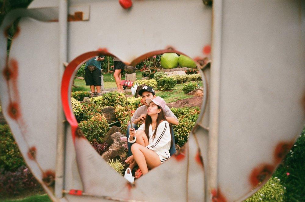 Heart Selfie, Phi Phi Island, Thailand