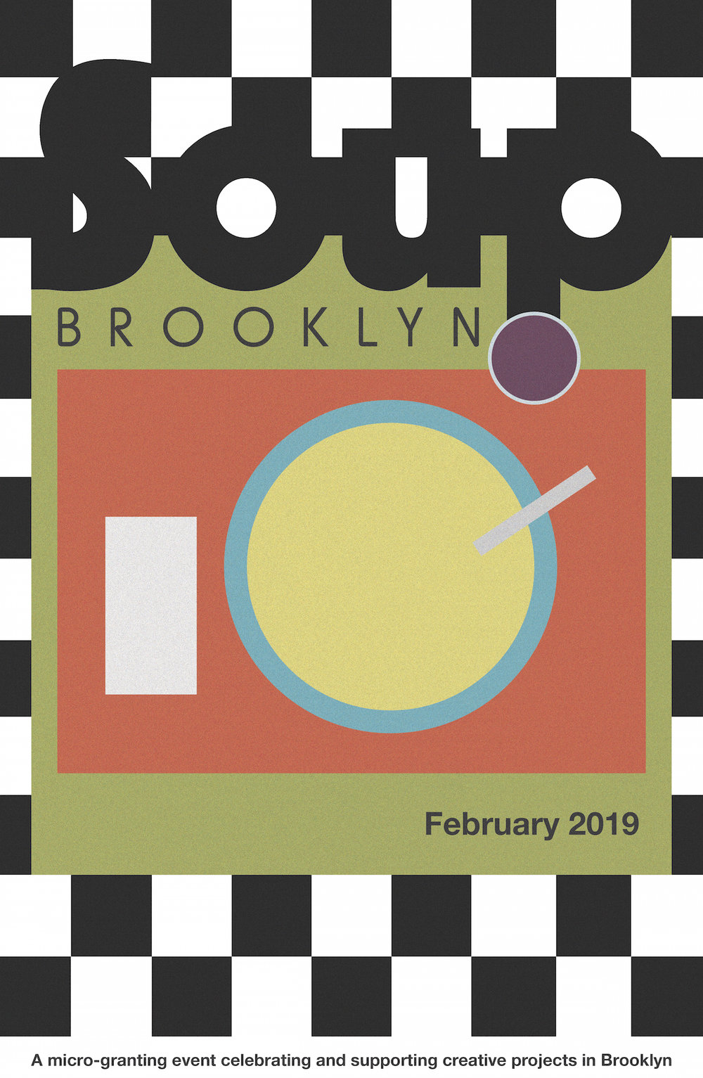 Poster for SOUP Brooklyn
