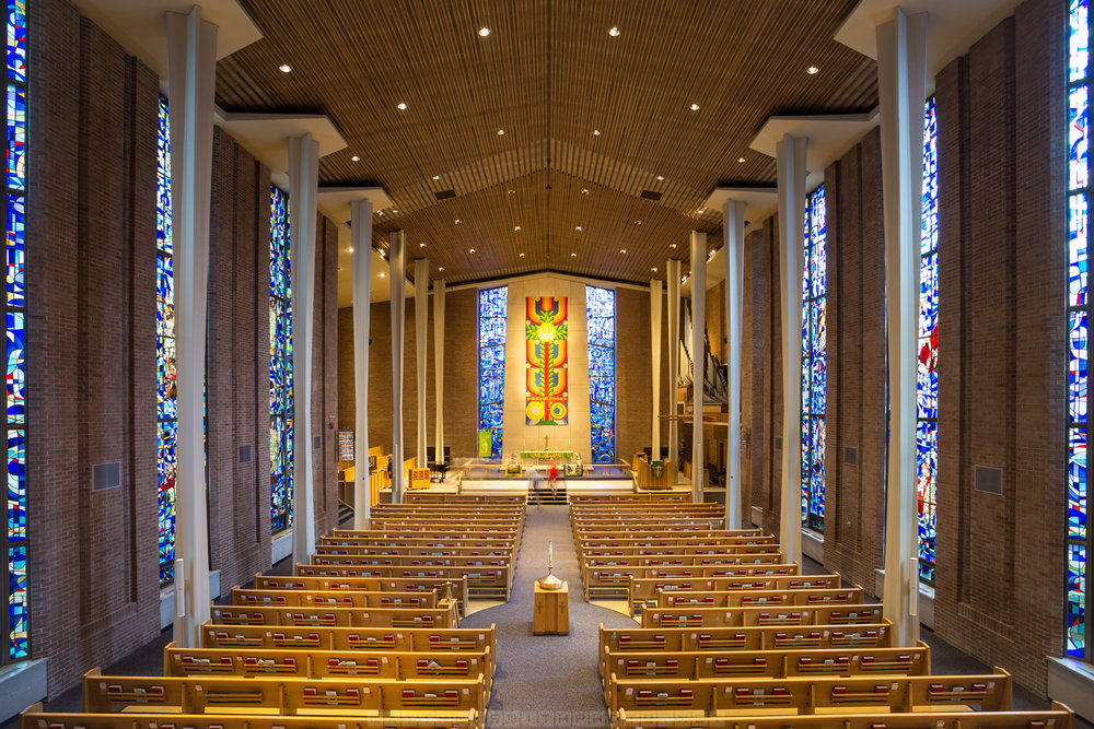 The stunning St Peter's Lutheran Church opens it's doors to the public during Doors Open Waterloo Region.
