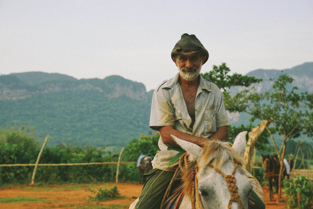The ever-so-pleasant Emilio; a man who has lived all of his life on these tobacco farm lands.