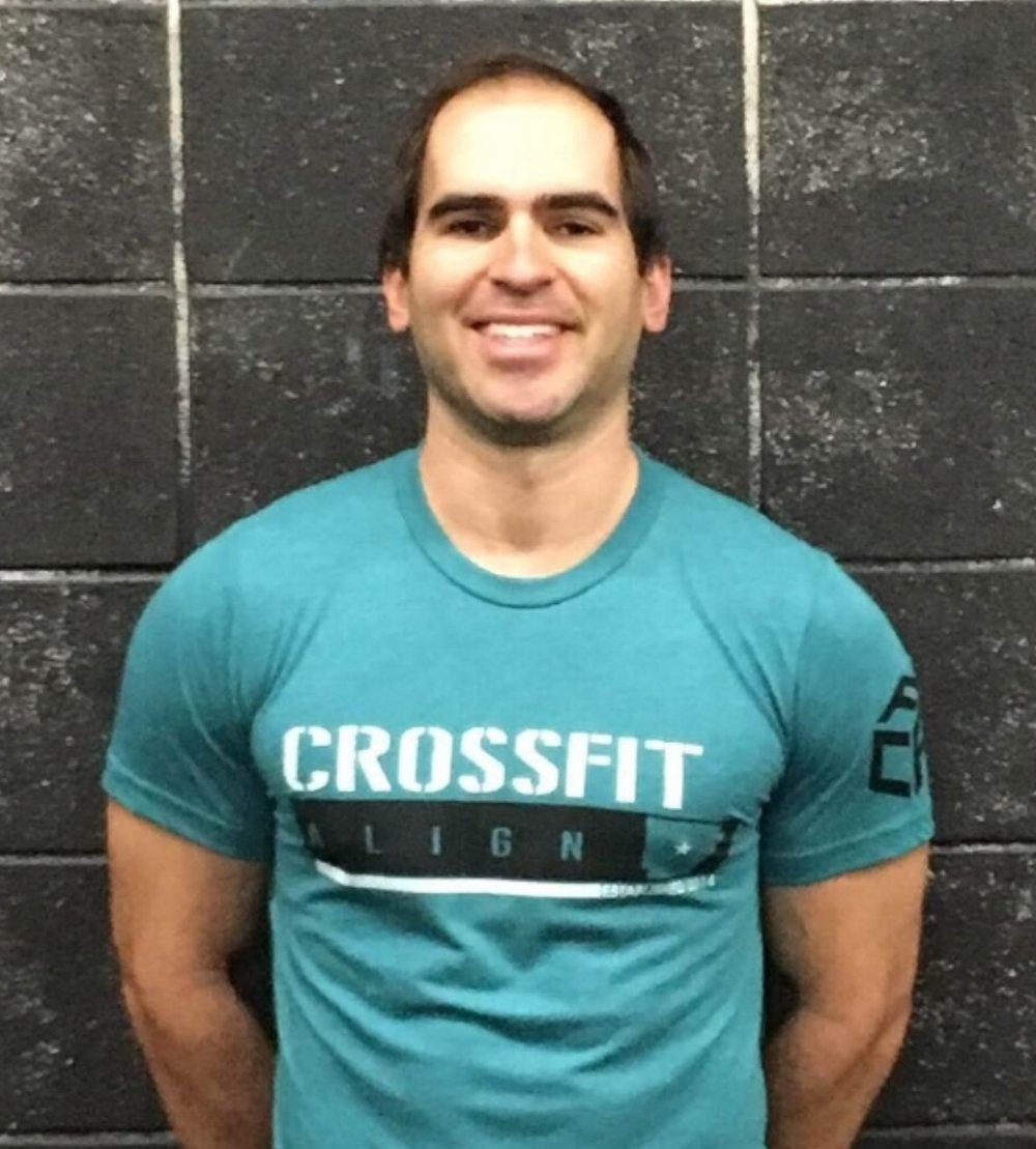 Tim Driedric, CF - L2  Personal trainer