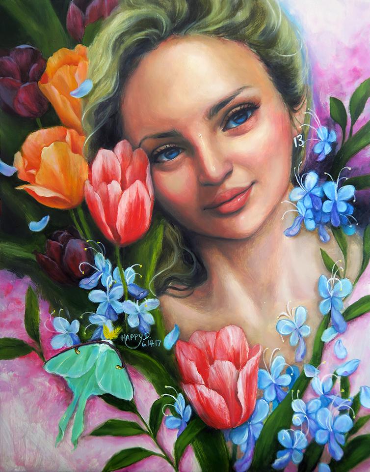 Tulip Goddess