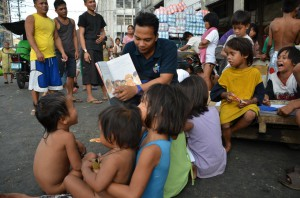 Outreach with a TNK Street Educator