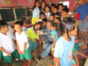 Give2Asia's Yolanda recovery efforts in the Philippines include providing school supplies to children in the affected areas