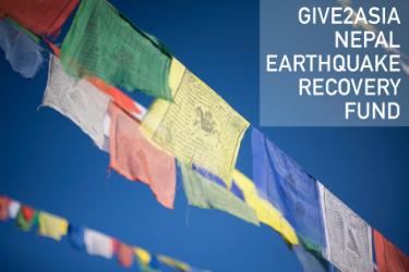 Give2Asia Nepal Earthquake Recovery Fund
