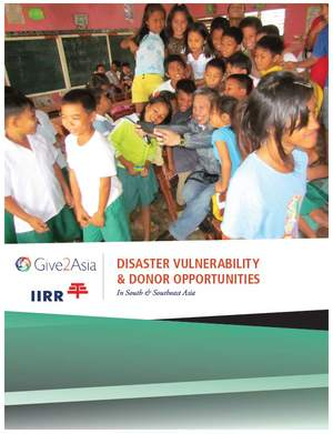 Disaster Vulnerability & Donor Opportunities in South and Southeast Asia