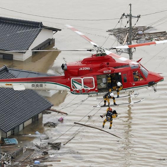 Japan Flooding Response -