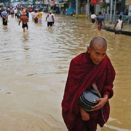Myanmar Flooding Response -