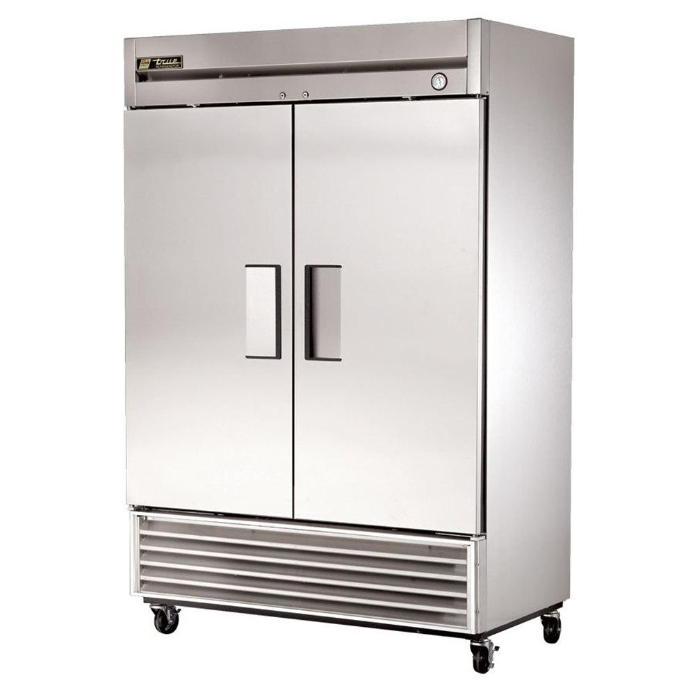 true two door reach in refrigerator 54\