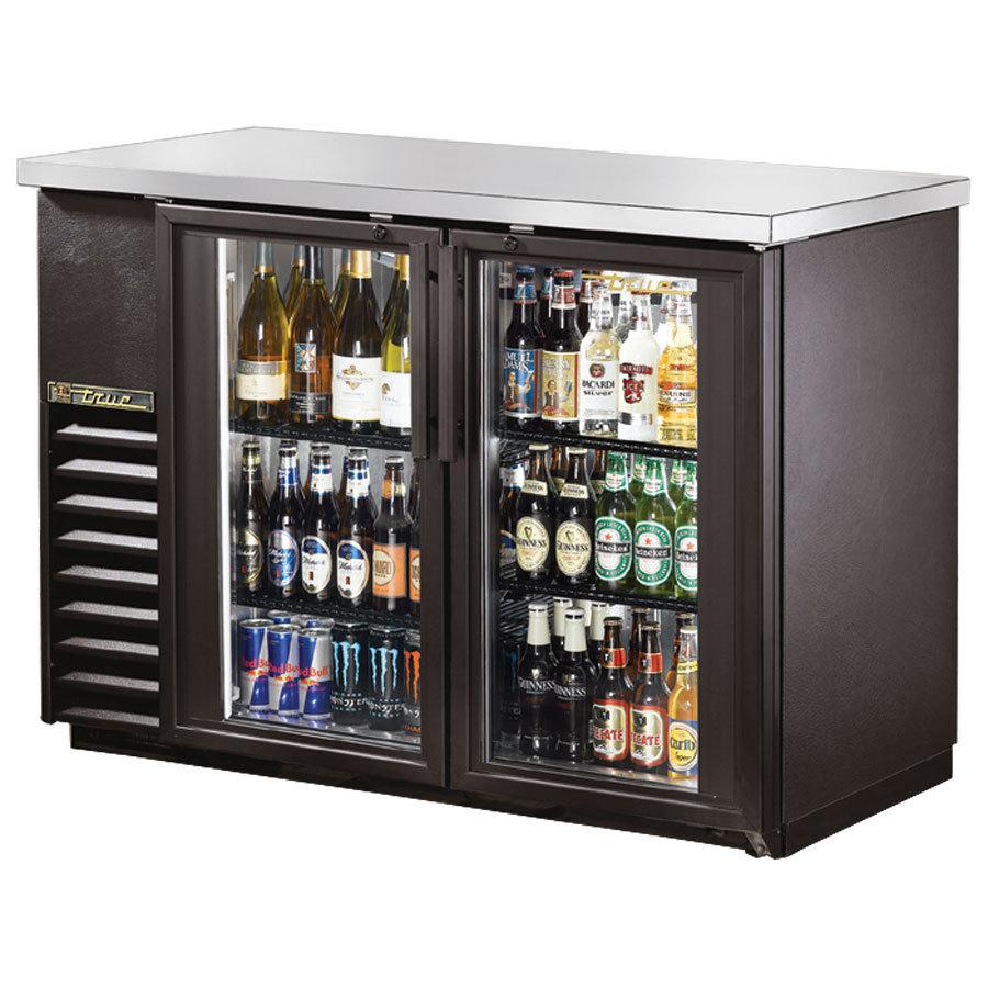 True 49 Glass Door Back Bar Cooler Tbb 24 48g Ld Anaheim