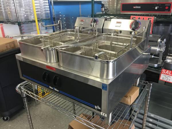 Star 530TF Star-Max 30 lb Countertop Electric Fryer