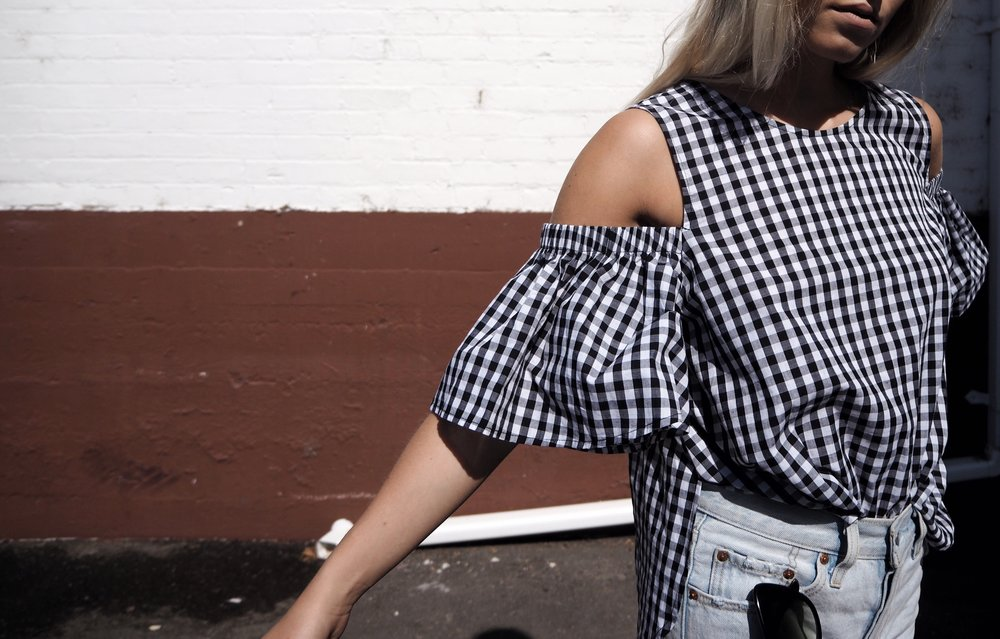 Gingham  - No longer just for your picnic table...