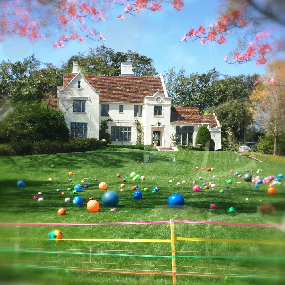 easter installation on peach battle, april 5, 2015