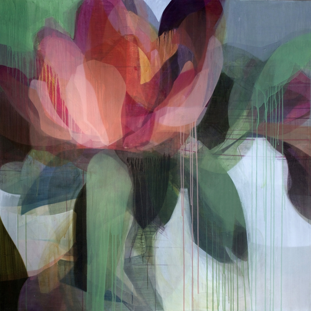 (color theory) rose peony