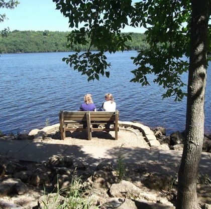 mom and me on bench.jpg