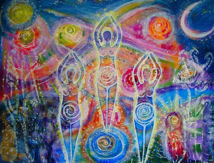 Image: Sisterhood of the Divine Feminine by Lila Violet