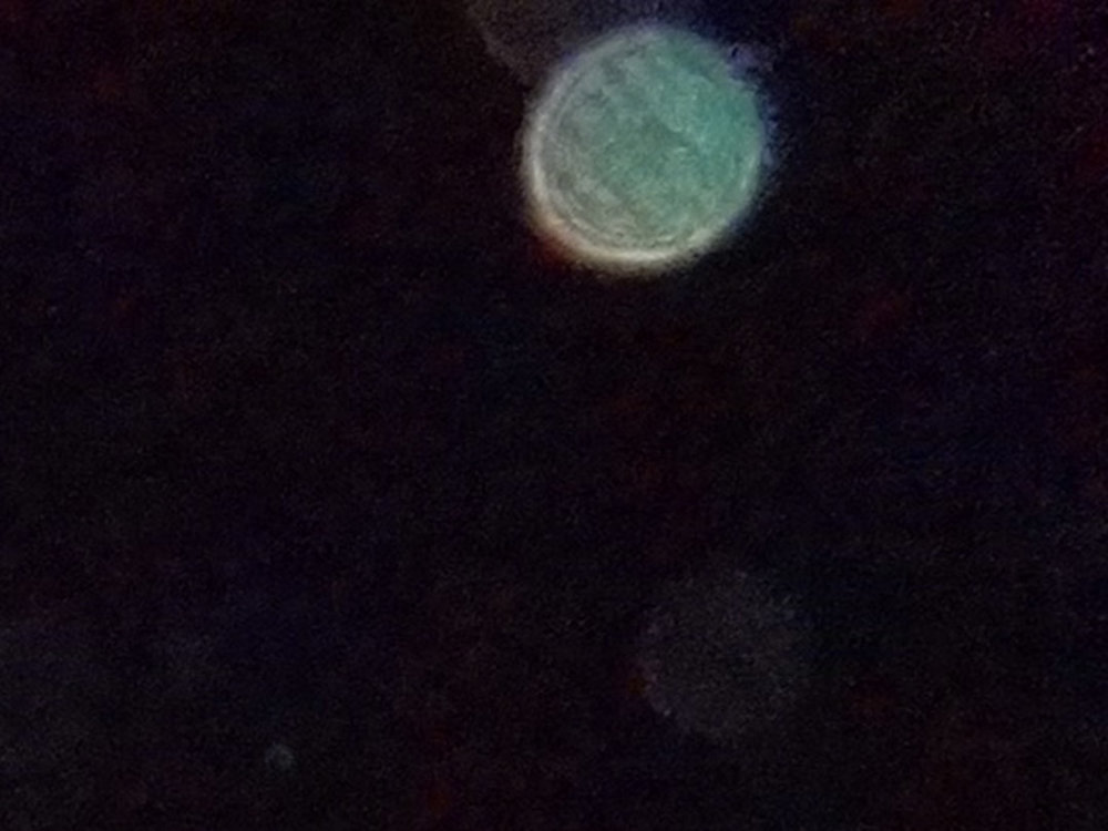 ORB CLOSE UP   10/10/2015 — Redlands, California