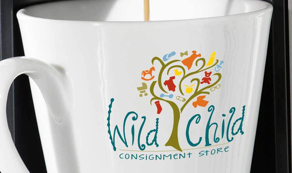 Children's consignment shop logo.