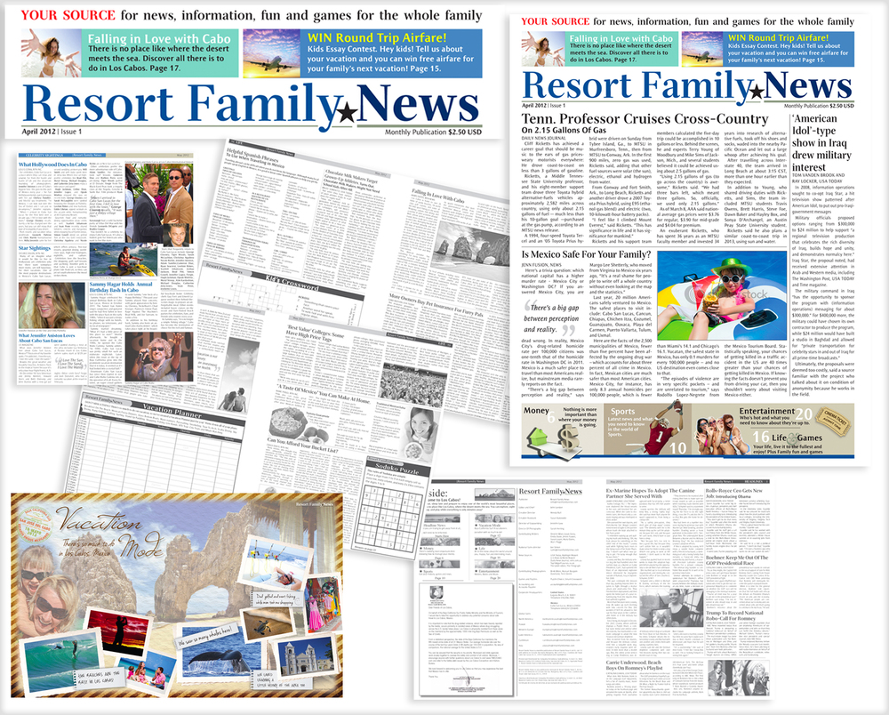 RESORT FAMILY NEWS