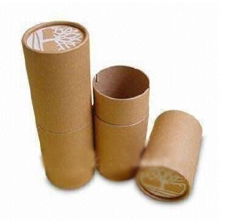 Packaging Example: cardboard tube