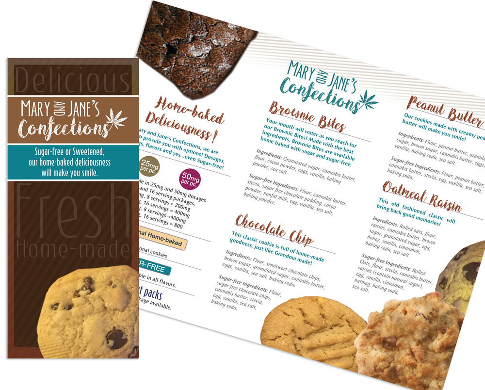 Tri-fold Sales Brochure