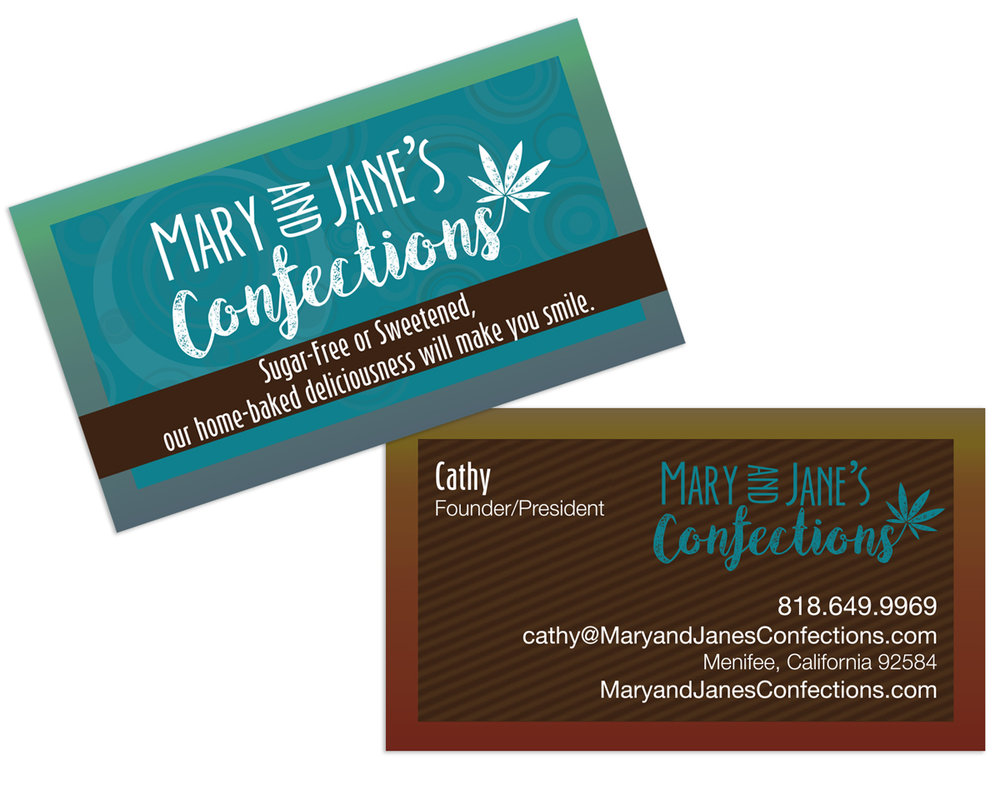 Two-sided Business Card Design