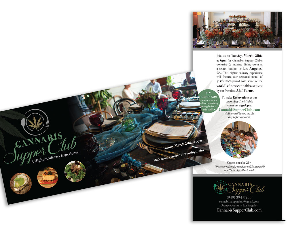 Special Event marketing collateral