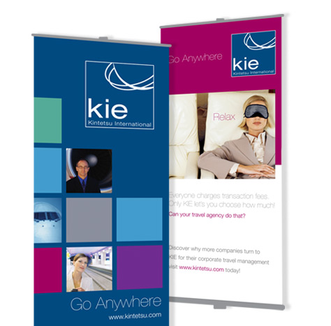 KIE – Signage, Pop-up Display