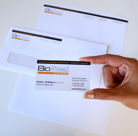 BioSeal Systems – Identity & Stationery Package
