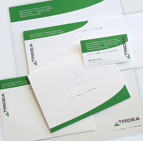 Tridea Partners – Stationery Package