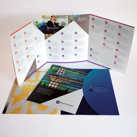 Montrose Travel Corporate Services – Brochure Insert