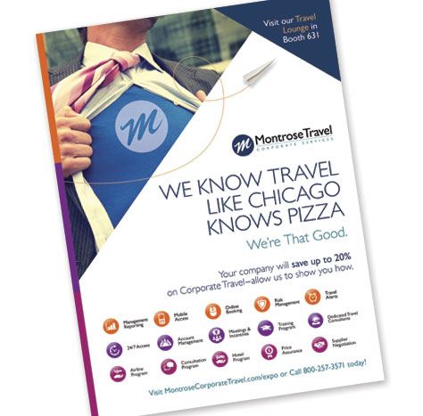 Montrose Travel Corporate Services – Tradeshow Handout