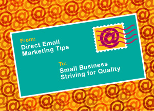 Direct Email Marketing Tips - graphic