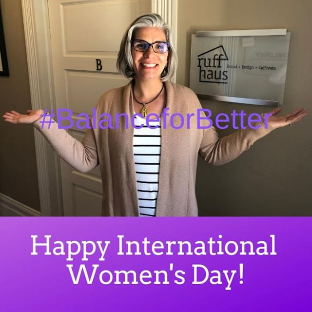 Happy #InternationalWomensDay to all the amazing women out there! Here's to supporting and inspiring one another. #IWD2019 #BalanceforBetter #RuffHausBrands