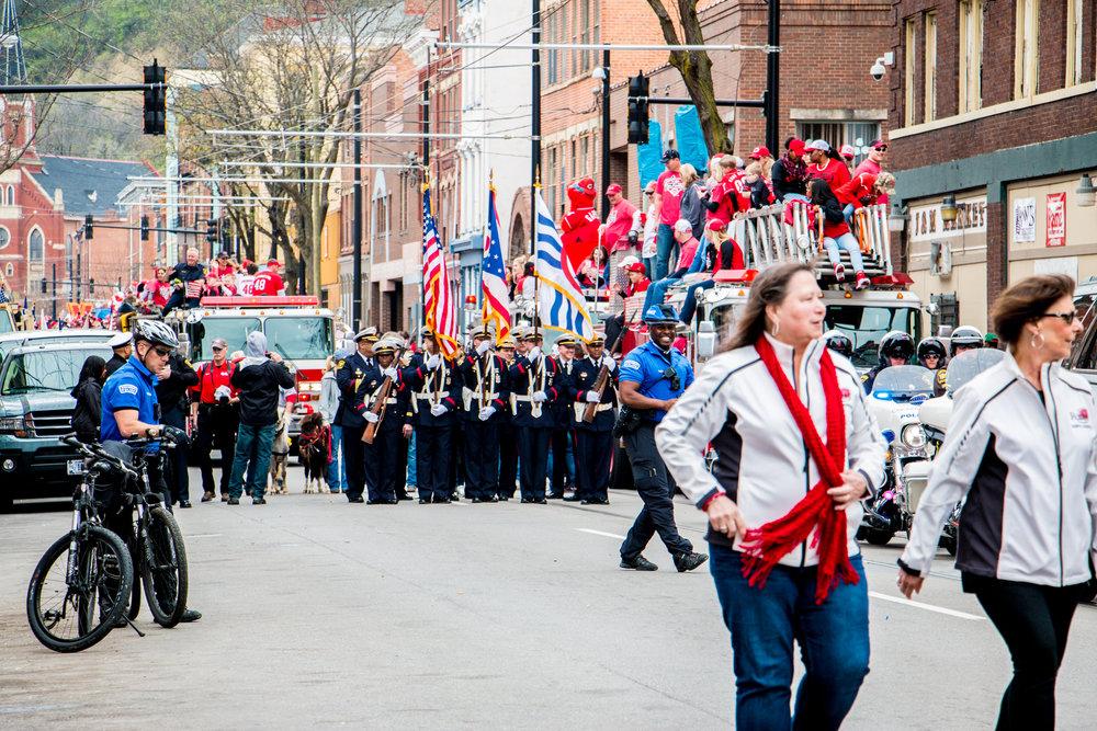 Cincinnati Reds Opening Day 2017