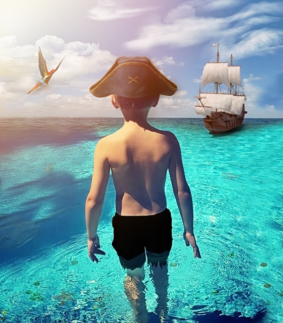 Pirate Kids Fantasy Photography image by Say Yes To Jess Dream Session  Cincinnati Photographer