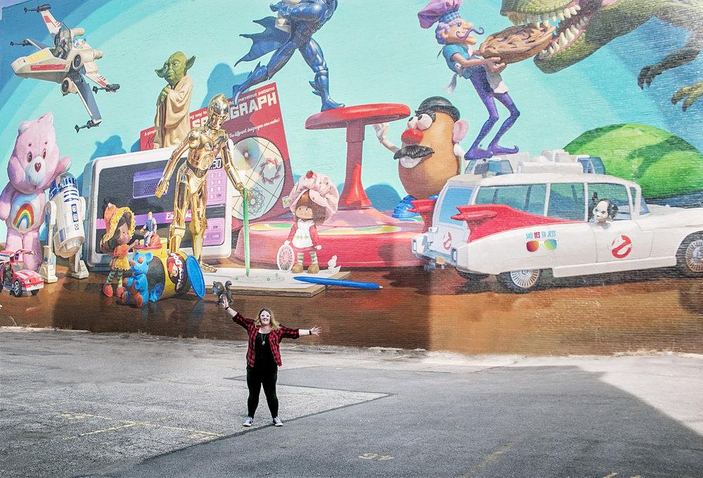 Cincinnati Toy Heritage Mural