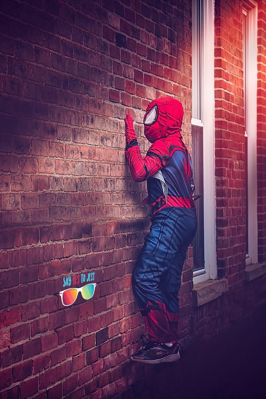 Spiderman Dream Session Superhero Photos Cincinnati Ohio and Covington Kentucky Fantasy Photographer.jpg