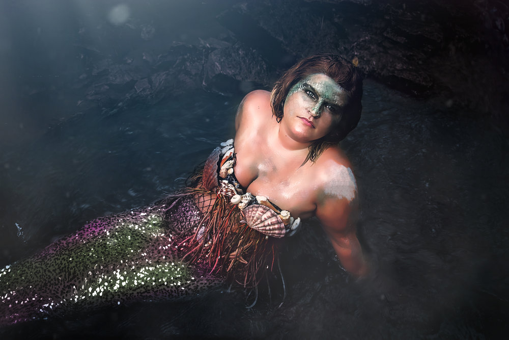 Mermaid Photoshoot in Cincinnati Ohio Say Yes To Jess Photographer