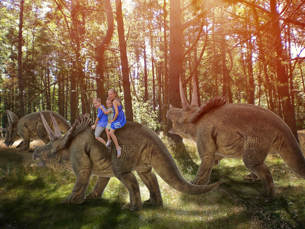 Dinosaur encounter Dream Session By Say Yes To Jess Cincinnati Photographer Jess Summers