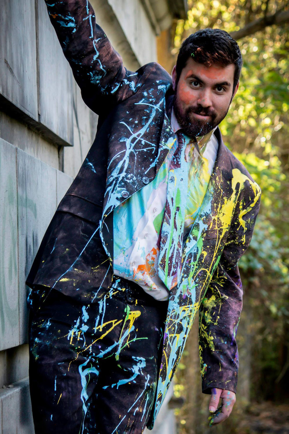 Paint Fight Photoshoot Cincinnati Ohio Styled Session by Say Yes To Jess Photography