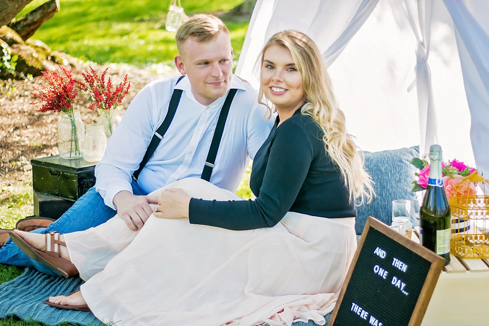Beautiful Styled Engagement Session by Jess Summers of Say Yes to Jess in Cincinnati Ohio Photography