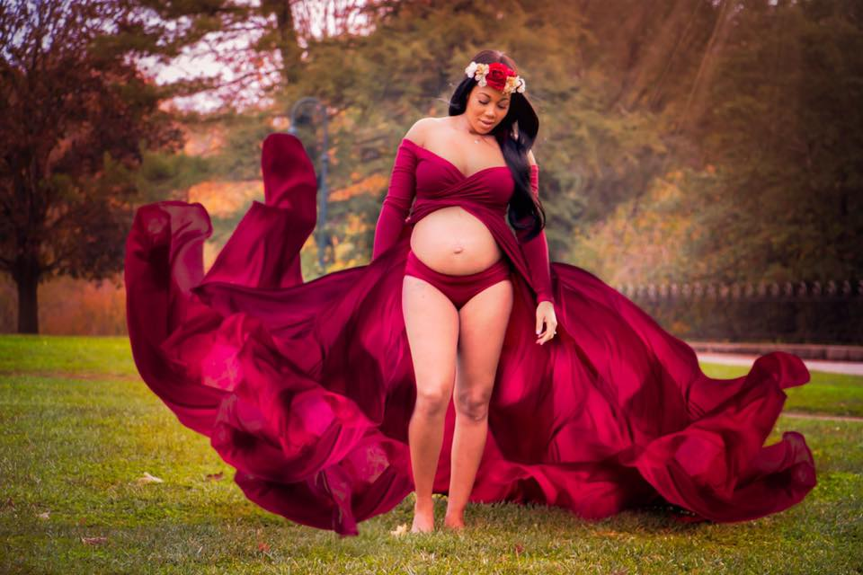 Styled Maternity Photoshoot for expecting mothers in Cincinnati Ohio Say Yes To Jess