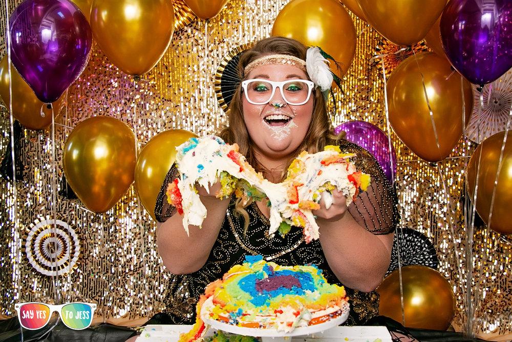 Epic Adult Cake Smash done right here in Cincinnati. jpg
