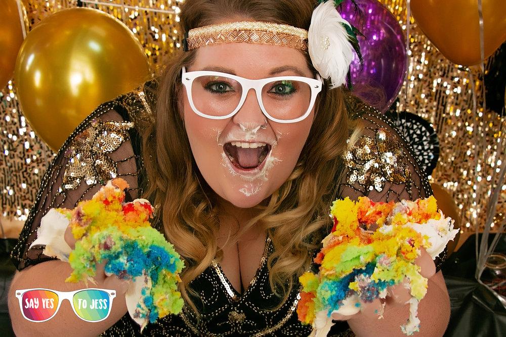 Adult Cake Smash in Cincinnati Ohio by Say Yes To Jess Photographer.jpg