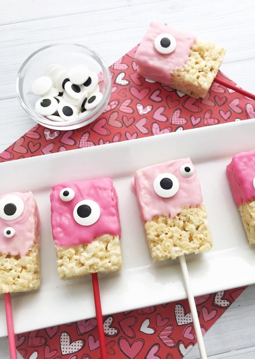 AND Monster pink rice krispies (FAV) by shrimp salad circus