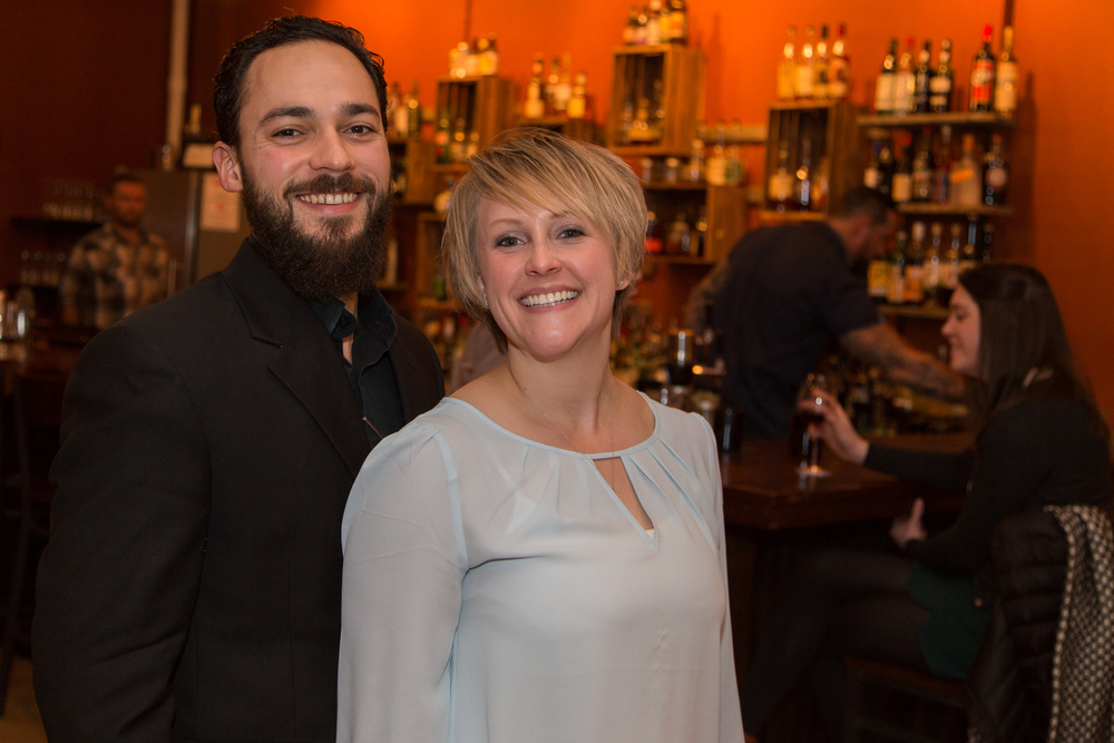 Owners, Antonio Alviar and Krista Cole