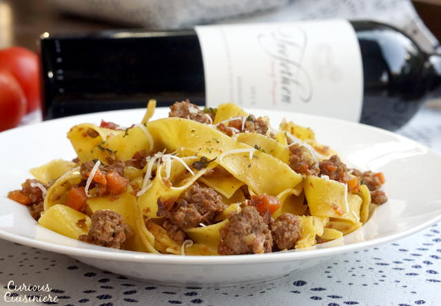Authentic Bolognese Sauce from Curious Cuisiniere